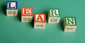 Wooden Blocks spelling learn